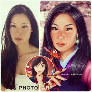 Lucy Liu jako Mulan