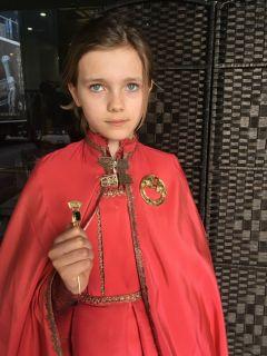 Wiedźmin - Lila Prideaux  jako młoda Renfri