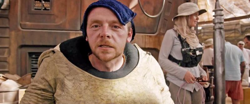 Simon Pegg chce zagrać w The Mandalorian. Jaką postać?