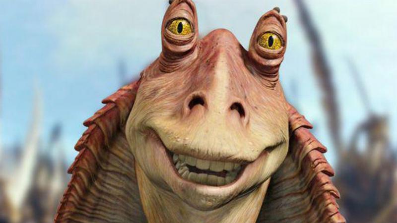 Gwiezdne Wojny - nowy teleturniej trafi na Disney+. Gospodarzem odtwórca roli Jar-Jar Binksa
