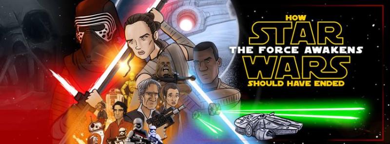 Jak powinny skończyć się Gwiezdne Wojny: Przebudzenie Mocy – parodia