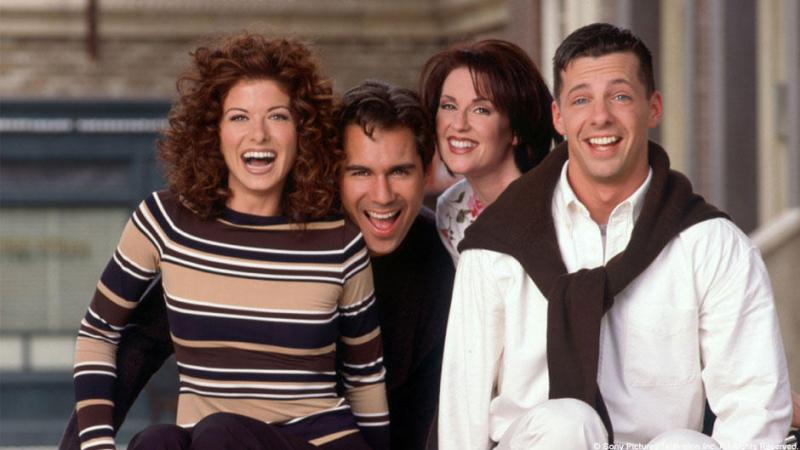 Wiemy, kiedy zadebiutuje 9. sezon serialu Will i Grace. Grafika promocyjna