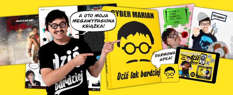 Dziś tak bardziej – recenzja książki Cyber Mariana