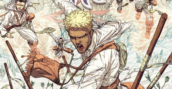 Biały piasek: nadchodzi komiks fantasy Brandona Sandersona