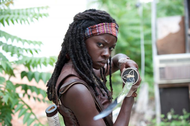 The Walking Dead - Danai Gurira o odejściu z serialu. Czy Michonne zginie?