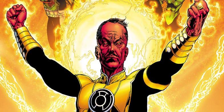 Green Lantern - kto zagra Sinestro w serialu? Aktor z Gry o tron i Outlandera negocjuje