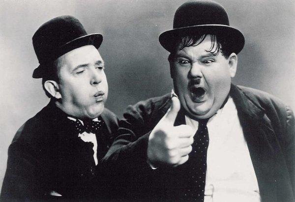 John C. Reilly i Steve Coogan jako Flip i Flap. Zdjęcie z Stan and Ollie