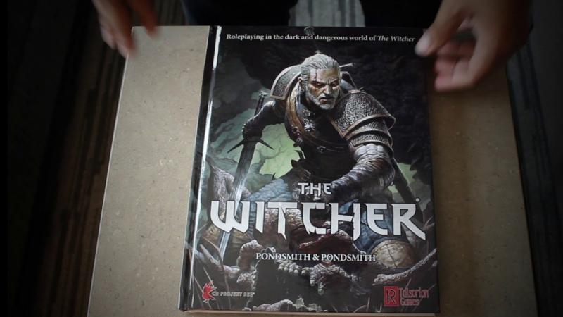 Tak wygląda papierowe RPG Wiedźmin. Zobacz unboxing