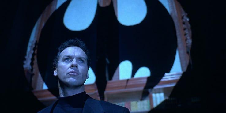 The Flash - czy Michael Keaton powróci jako Batman? Aktor odpowiada na pytania Kimmela