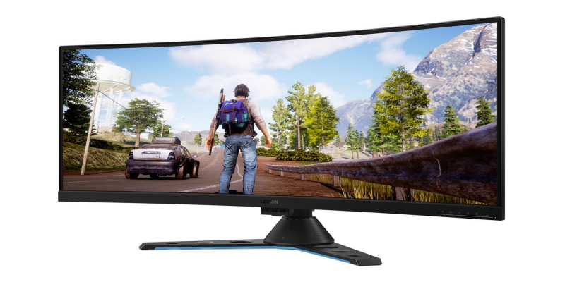 CES 2019: Lenovo pokazało ultrapanoromiczny monitor dla graczy