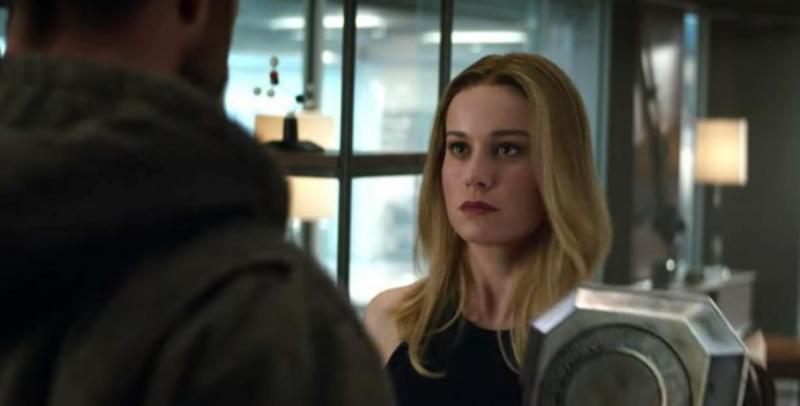 Avengers: Endgame - jak Kapitan Marvel znalazła Iron Mana? Jest silniejsza niż Thor?