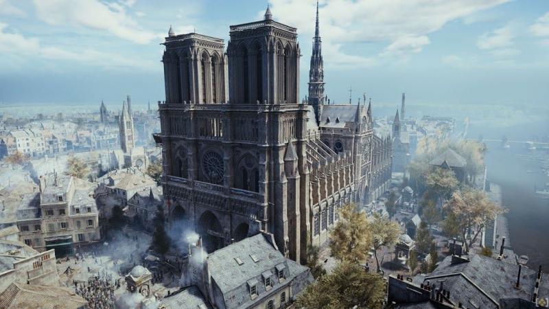 Assassin's Creed: Unity pomoże odbudować katedrę Notre Dame
