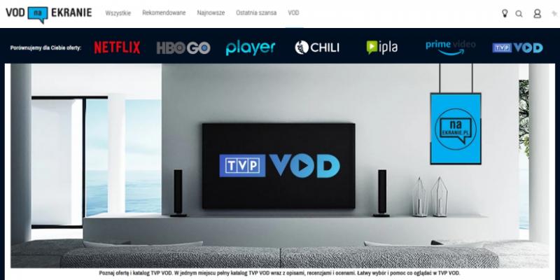 Nasza Porównywarka VOD zmienia się dla Was. TVP VOD w bazie, jest też nowa funkcja