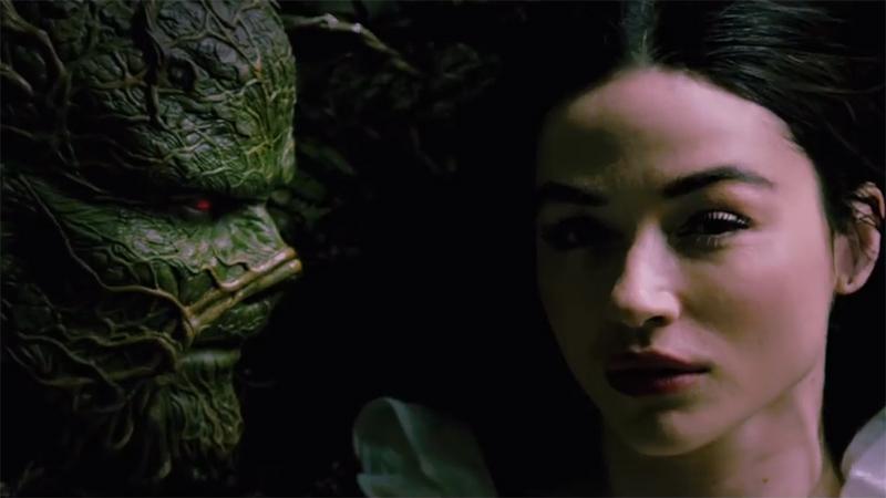 Swamp Thing - pełny zwiastun serialu o Potworze z bagien DC