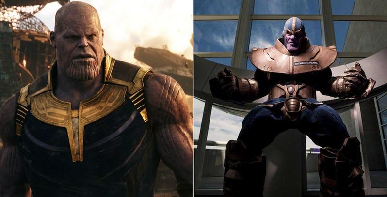 Najciekawsze cosplaye Thanosa. Niektóre są naprawdę pomysłowe