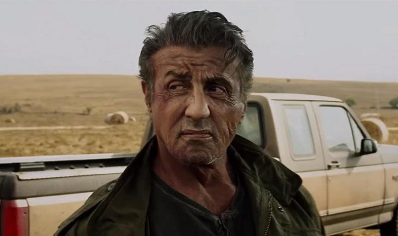 Rambo 5 - Stallone szykuje się do walki w wideo z planu filmu