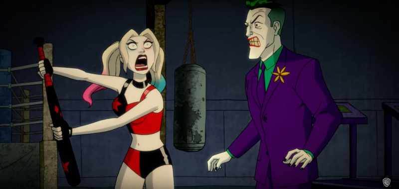 Harley Quinn - zwiastun serialu animowanego. Jazda bez trzymanki dla dorosłych {SDCC 2019]