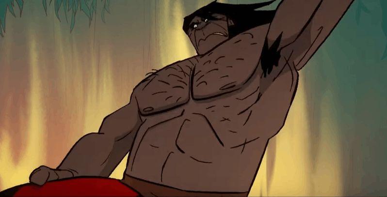 Primal -  fragment serialu twórcy Samuraja Jacka. Ale jatka!