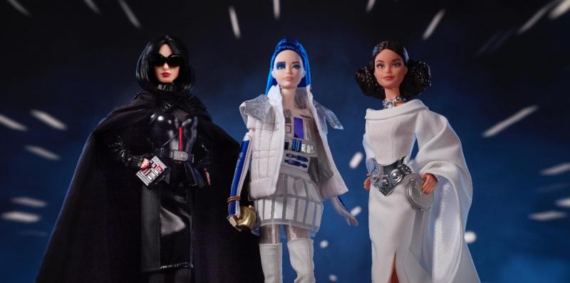 Gwiezdne Wojny - Leia, R2D2 i Vader jako lalki Barbie. Mattel wypuszcza nowe zabawki