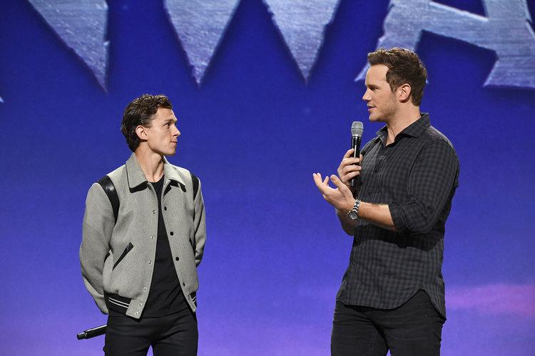 Spider-Man: Tom Holland o wsparciu, jakie okazał mu Chris Pratt