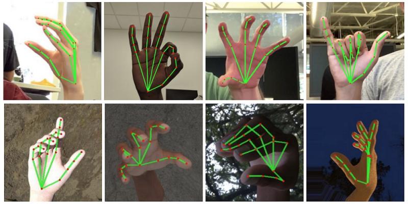 Pracownicy Google opracowali mobilny system rozpoznawania dłoni