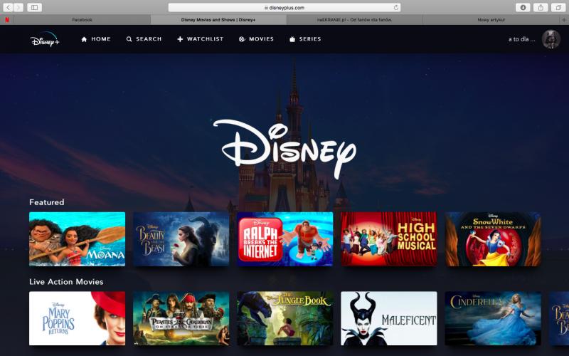 Po ujawnieniu wyników Disney+ wysokość akcji firmy osiągnęła rekordową wysokość