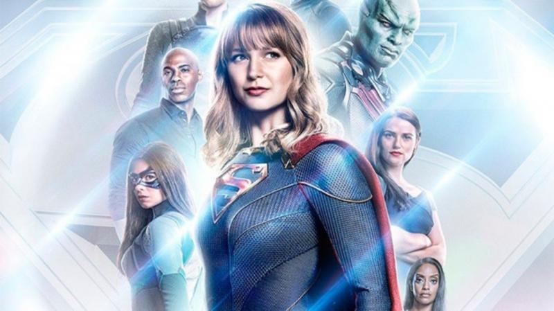 Supergirl - Kara i jej wesoła paczka na nowym plakacie 5. sezonu
