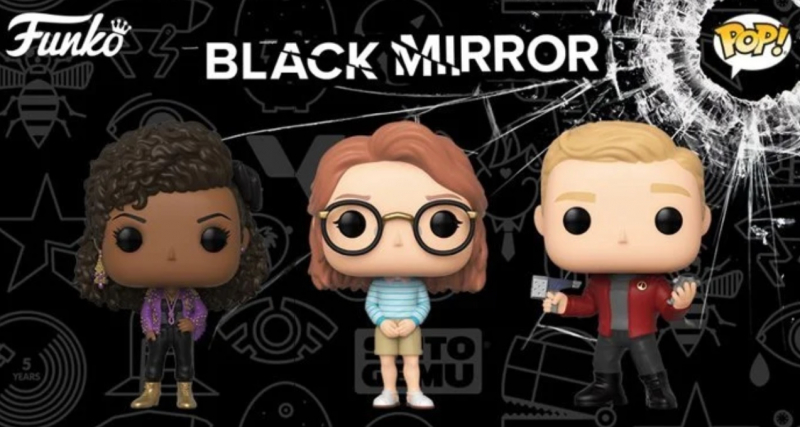 Czarne lustro - Funko prezentuje figurki bohaterów. Zobacz zdjęcia