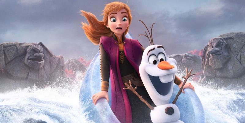Kraina lodu 2 - plakaty z bohaterami animacji Disneya i nowy spot