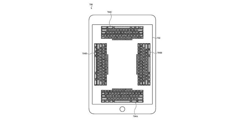 Apple pracuje nad ekranową klawiaturą, którą poczujemy pod palcami