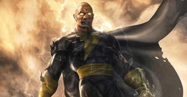 Black Adam - Dwayne Johnson rozpoczyna ciężki trening do roli