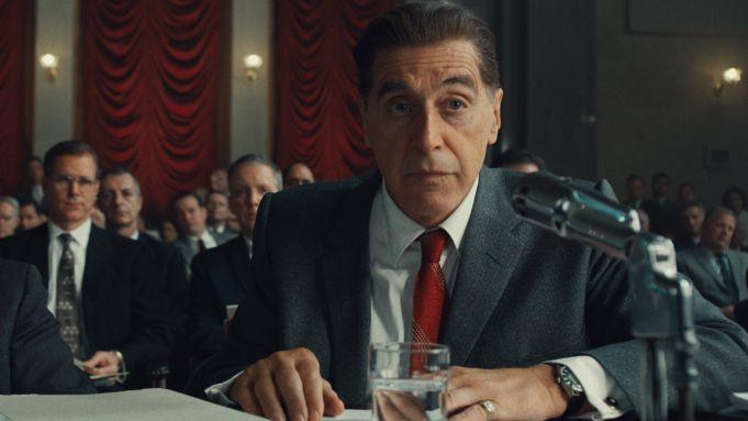Irlandczyk - Al Pacino w brawurowej roli jako Jimmy Hoffa. Wideo od kulis