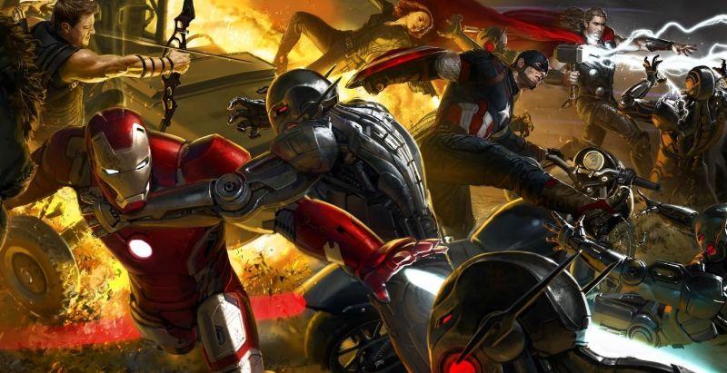 Avengers: Czas Ultrona - tych szkiców nie widzieliście. Inne wersje złoczyńcy i Hulkbustera