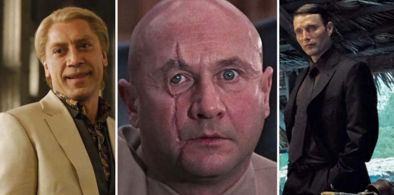 James Bond - złoczyńcy z filmów o agencie 007. Znasz ich wszystkich?