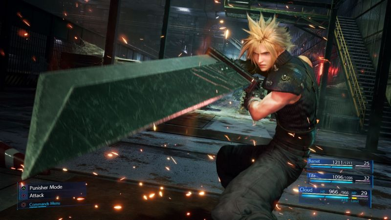 Final Fantasy 7 Remake - cała drużyna w jednym miejscu. Oto nowa grafika z gry