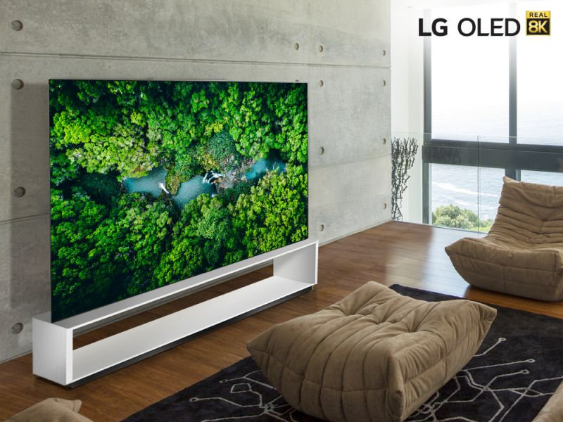 """LG pokaże """"prawdziwe"""" telewizory 8K podczas CES 2020"""