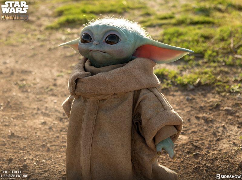 Baby Yoda - replika w skali 1 do 1. Na taki gadżet czekali fani Star Wars!