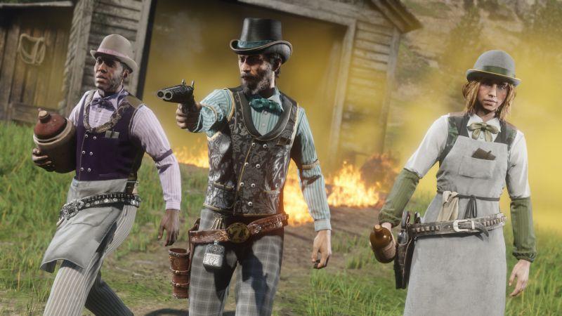 Red Dead Online z kreatywnymi hakerami: gracze atakowani są przez... dwugłowe szkielety