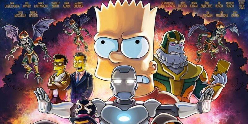 Simpsonowie - Kevin Feige jako Chinnos, parodia Thanosa. Ten klip podbija sieć