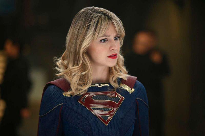 Supergirl - zdjęcia z drugiej części odcinka Back From the Future