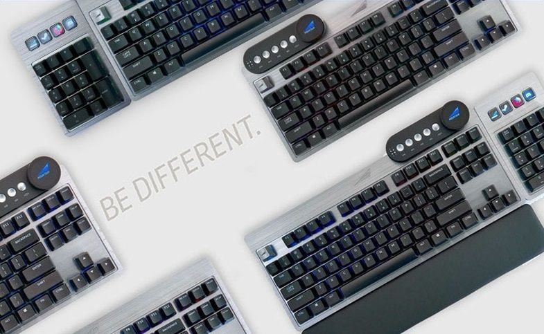 Everest – modułowa klawiatura dla graczy i twórców