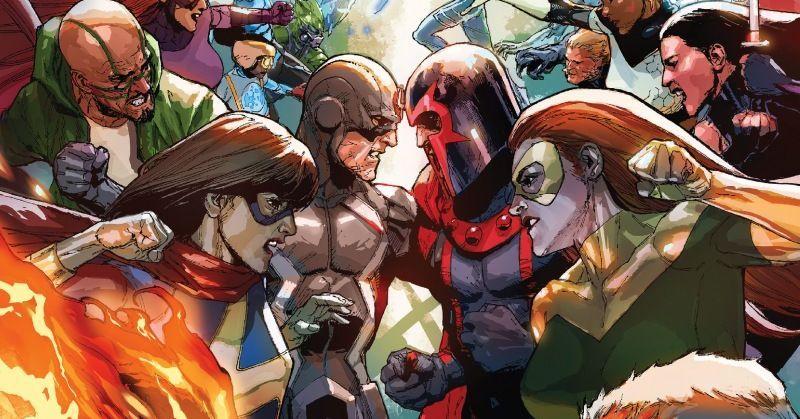 Inhumans kontra X-Men - recenzja komiksu
