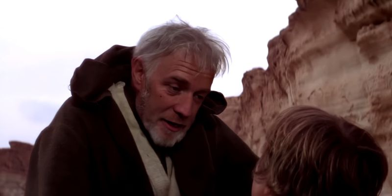 Ewan McGregor jako Obi-Wan Kenobi z Nowej Nadziei