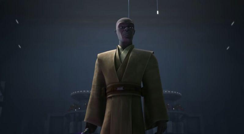 Gwiezdne Wojny: Wojny Klonów - Mace Windu w zapowiedzi 4. odcinka 7. sezonu