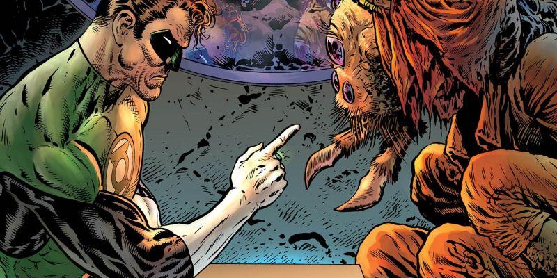 Green Lantern #01: Galaktyczny Stróż Prawa - recenzja komiksu