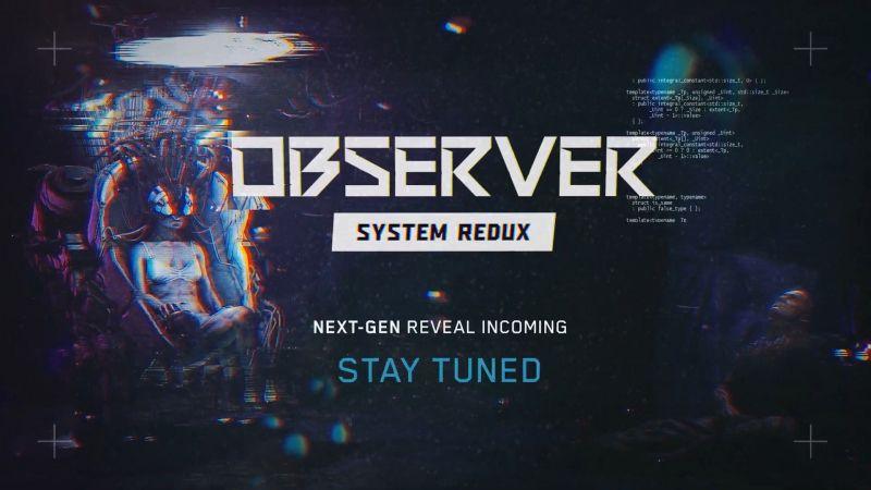 Observer: System Redux zapowiedziane. Polski horror trafi na konsole nowej generacji