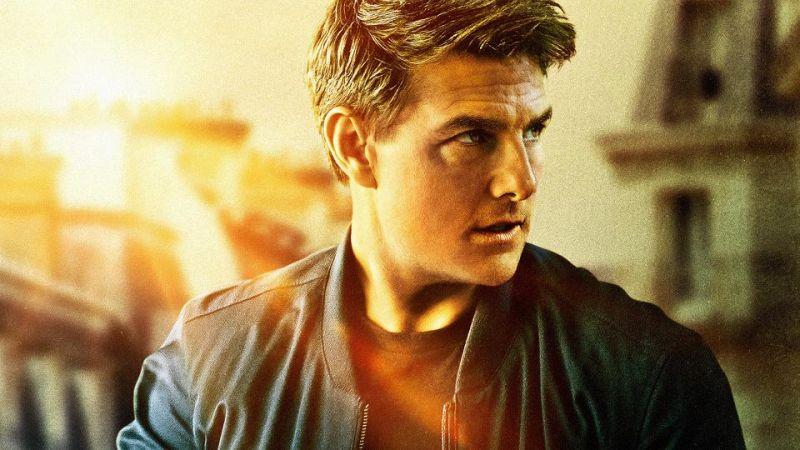 Mission: Impossible 7 - Tom Cruise na motocyklu zeskakuje z gigantycznej rampy na szczycie góry! [WIDEO]
