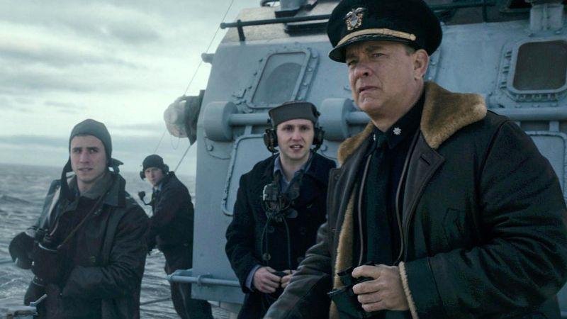 Misja Greyhound - zwiastun i data premiery w VOD. Film wojenny Toma Hanksa