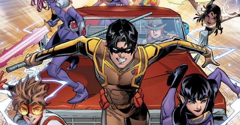Liga Młodych - znamy pełen tytuł 4. sezonu serialu DC
