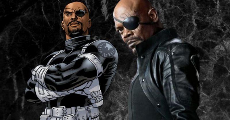6 lat przed MCU przewidziano, że Jackson zagra Fury'ego. Capem miał być...